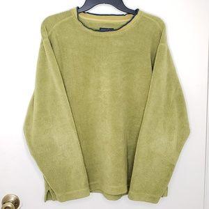 Patagonia Rhythm Men's Green Pullover Fleece Small